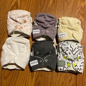 6 Grovia Newborn Diapers